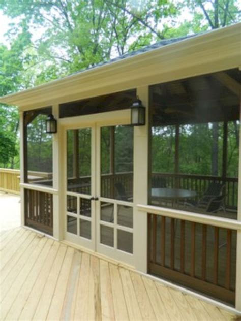 screen porch plans 8 ways to have more appealing screened porch deck porch