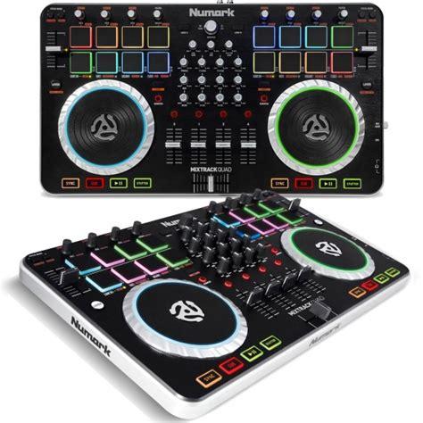 Numark Mixtrack 4 Channel Dj Controller numark mixtrack 4 channel dj controller with audio i o