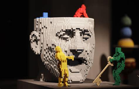 lego painting milan exhibit of lego sculptures opens in milan