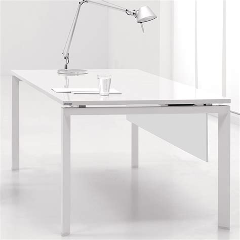 white lacquer desk home design by larizza