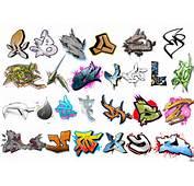 Graffiti Letters Alphabet Graphic
