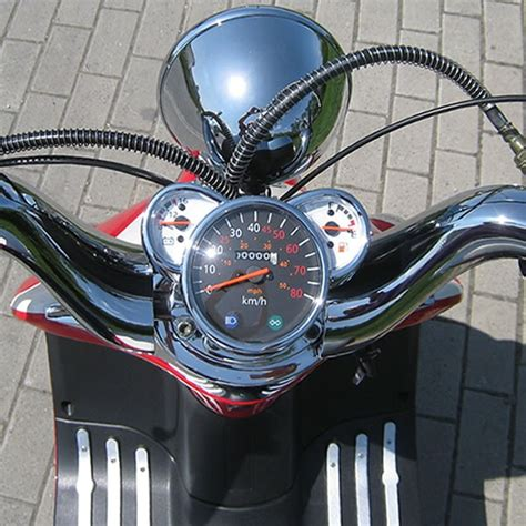 Motorrad Und Scooter Handel Oelde by Motorroller 50ccm Retro Roller Mit 45 Km H Flash Rot