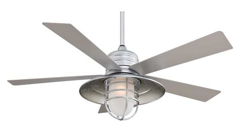 Uttermost Chandeliers Clearance Minka Aire One Light Galvanized Ceiling Fan Galvanized
