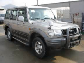 2002 hyundai galloper photos 2 5 diesel automatic for sale