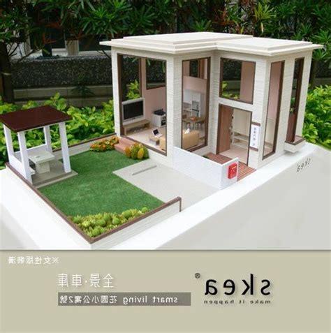 membuat maket rumah 25 contoh maket rumah minimalis modern archizone