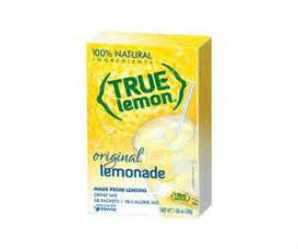 Free Product Sles True Lemon And True Lime by True Lemon 10ct Drink Mix Free At Dollar Tree With