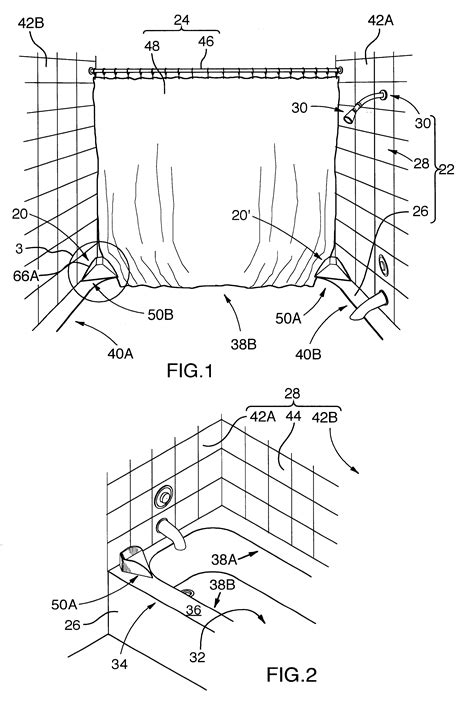 bathtub structure patent us6745415 splash block for combination bathtub