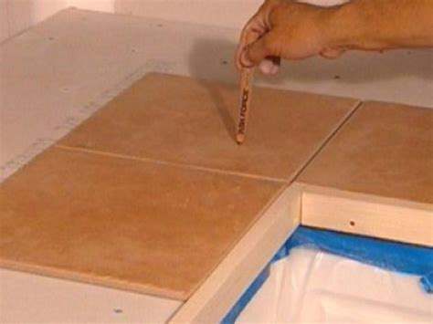 Laminate Countertop Joints by How To Install Tiles On A Kitchen Countertop How Tos Diy