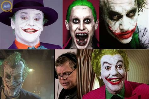 actor who played the part of batman on tv 5 actors who have played the joker