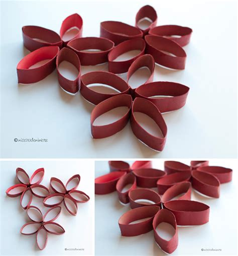 imagenes de flores con tubos de papel bao diy flores con tubos de papel higi 233 nico mi cesta de