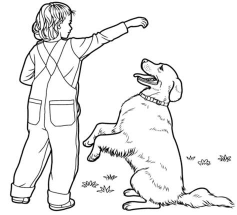 golden retriever dog coloring page printable dog breeds