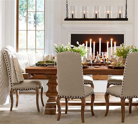 pottery barn dining room table banks reclaimed wood extending dining table pottery barn