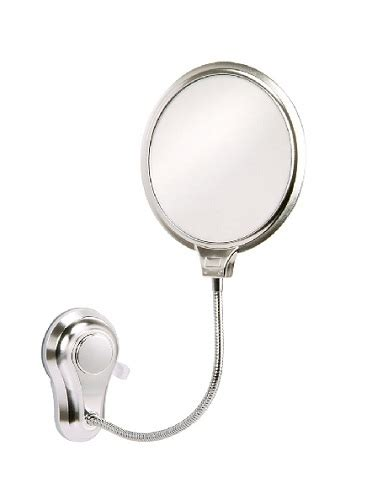 suction bathroom mirror showerdrape vertex suction fix metal shaving mirror ebay