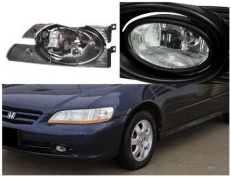 Honda Accord Sedan 2001 2002 Clear Fog Lights Kit