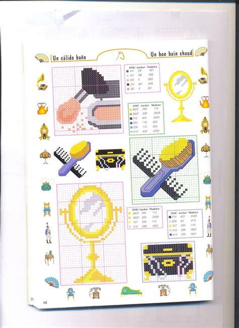 schemi punto croce bagno piccoli accessori bagno punto croce 1 magiedifilo it