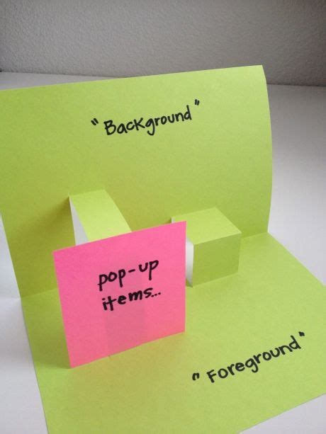 foreground vs background teaching background vs foreground for day card