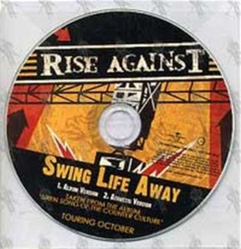 swing life away rise against rise against the sufferer the witness album cd