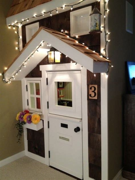how to make a indoor dog house indoor play house this could be cutely converted to an indoor dog house when the