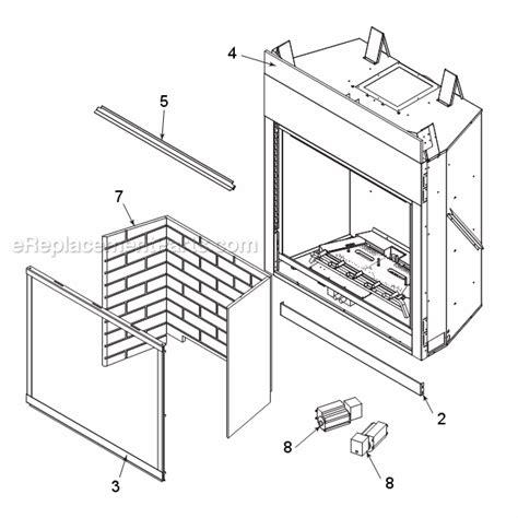 monessen mldv500 parts list and diagram