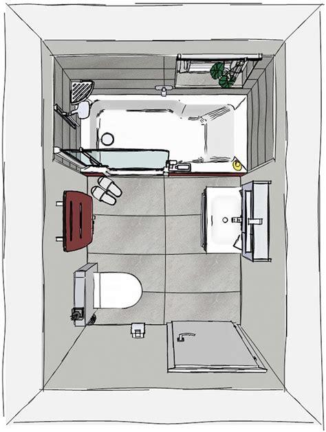 Grundriss Kleines Bad Mit Dusche Und Wanne by Das M 228 Rchen Vom Zu Kleinen Bad Artweger