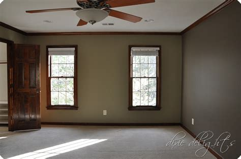 Bedroom Wall Colors With White Trim Oak Trim Light Brown Walls House Decor Oak