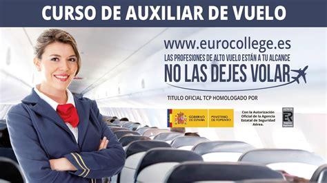 curso eurocollege tripulante de cabina de pasajeros tcp youtube