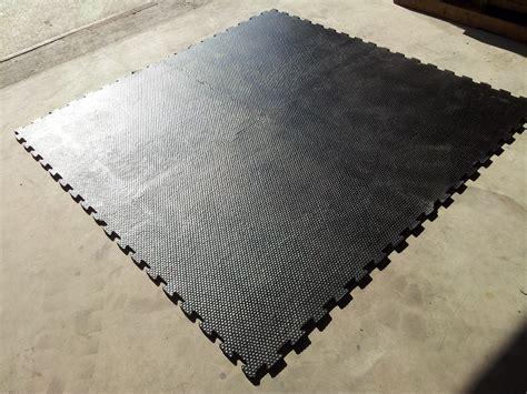 crossfit vloer crossfit fitness vloer puzzelstuk 100x100x1cm monkeyxl