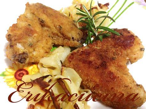 cucinare alette di pollo ali di pollo impanate al forno fantasie in cucina