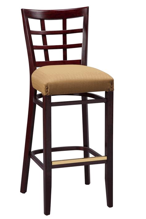 bar stool commercial regal seating series 2411 window pane commercial counter