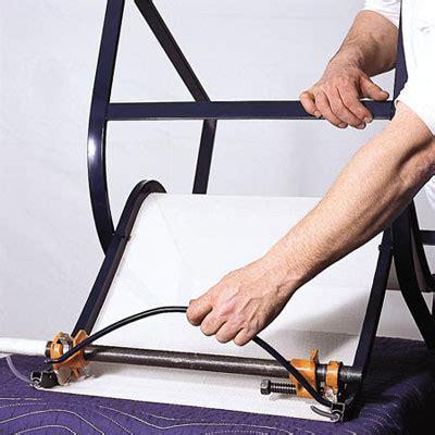 Reattach the spreader bar   How to Repair Aluminum Patio