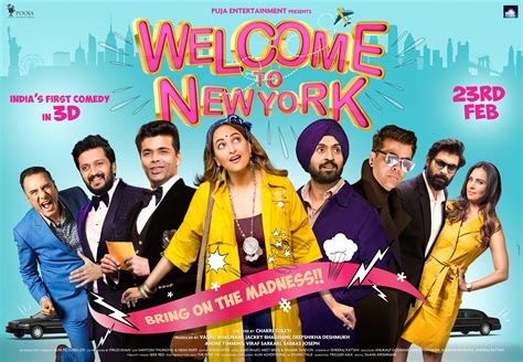 film india new york welcome to new york diljit dosanjh sonakshi sinha and