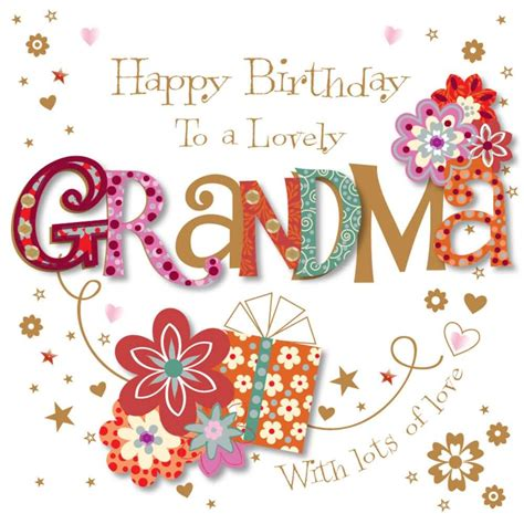 Happy Birthday Wishes For Grandmother Happy Birthday Grandma Quotes Birthday Message For Granny