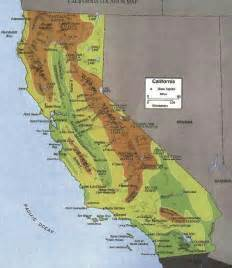 california mountain ranges gea