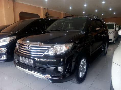 Toyota Fortuner Tahun 2012 grand fortuner 2 5 g diesel up trd tahun 2012 mobilbekas