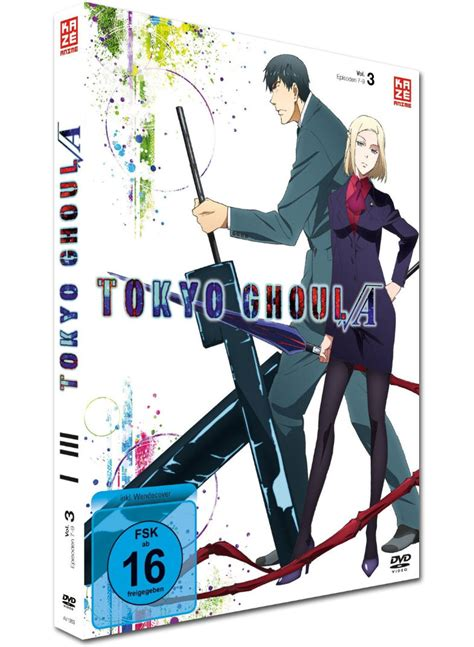 tokyo ghoul vol 3 tokyo ghoul root a vol 3 anime dvd world of