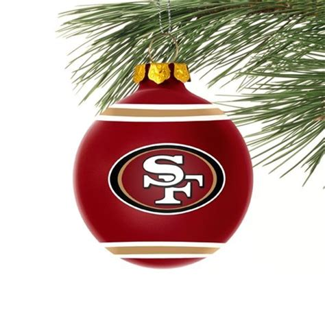 san francisco 49ers christmas ornament stuff
