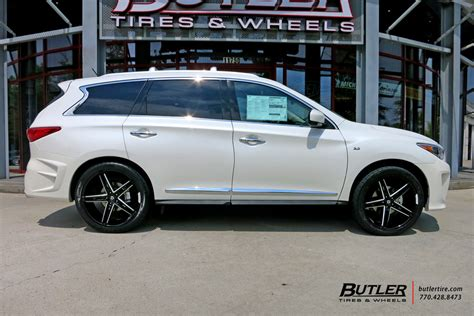 infiniti qx60 rims infiniti qx60 custom wheels lexani r three 20x et tire