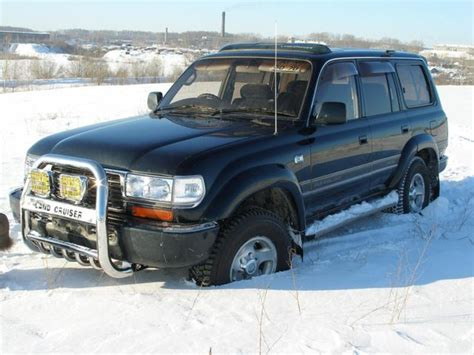 Toyota Land Cruiser 1995 1995 Toyota Land Cruiser Pictures