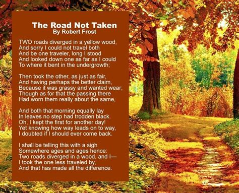 Road Not Taken Essay by Robert The Road Not Taken Analysis Essay