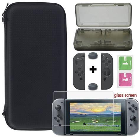 Screenguard Nintendo Switch Black Factory Factory Switch Cass Treavl Bag For Nintendo Switch