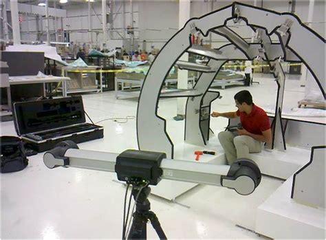 Zodiac Aircraft Interiors by Zodiac Aerospace Learjet 85 Jig Adjustment Creaform S