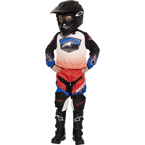 red white and blue motocross gear alpinestars 2017 new mx racer supermatic red blue white