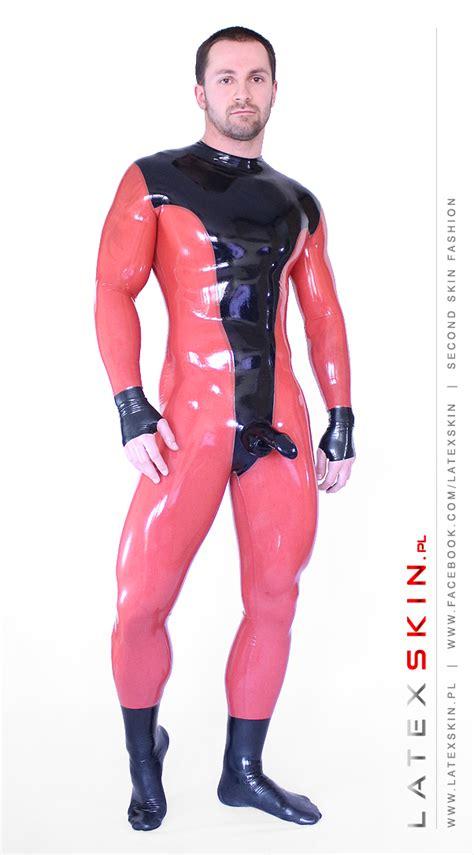 color suit dual color suit latexskin