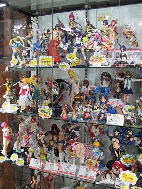 raunchy anime at a shop in akihabara tokyo japan