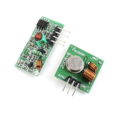 Terbaru 433mhz Rf Wireless Receiver Transmitter Arduino Arm Mcu 2017 433mhz wl rf transmitter receiver module link kit