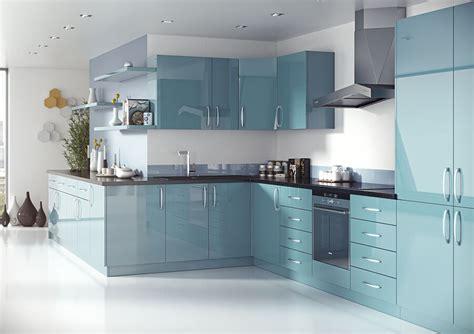High Gloss White Kitchen Cabinet Doors
