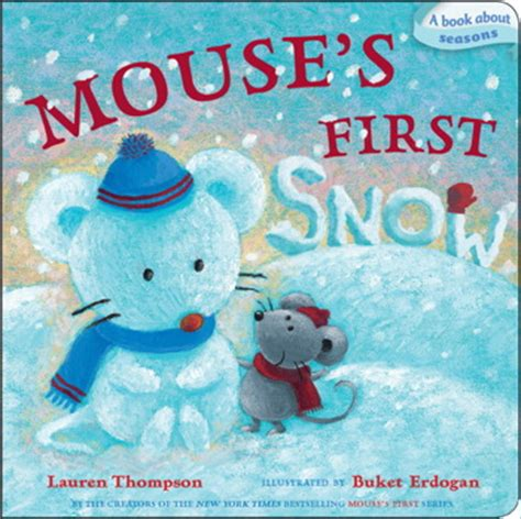 mouse snow books mouse s snow book by thompson buket