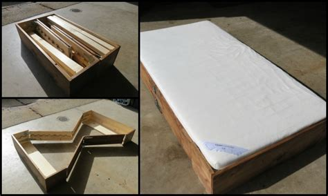 Futon In A Box by Learn How To Build A Space Saving Bed In A Box