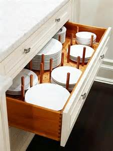 Kitchen Cabinet Dish Organizers Bhg Centsational Style