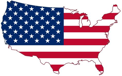usa map states flags file usa flag map svg